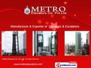 Automatic Elevators By Metro Elevators Co. Pvt. Ltd Ahmedabad
