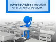 Buy to Let Advice for Landlords