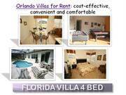 Orlando Villas for Rent