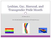 LESBIAN GAY BISEXUAL AND TRANSGENDER pride ppt-final
