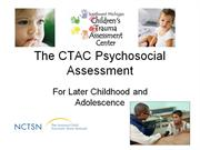 The CTAC Psychosocial Assessment