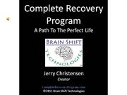 Complete Recovery Program