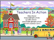 Teachers In Action Project