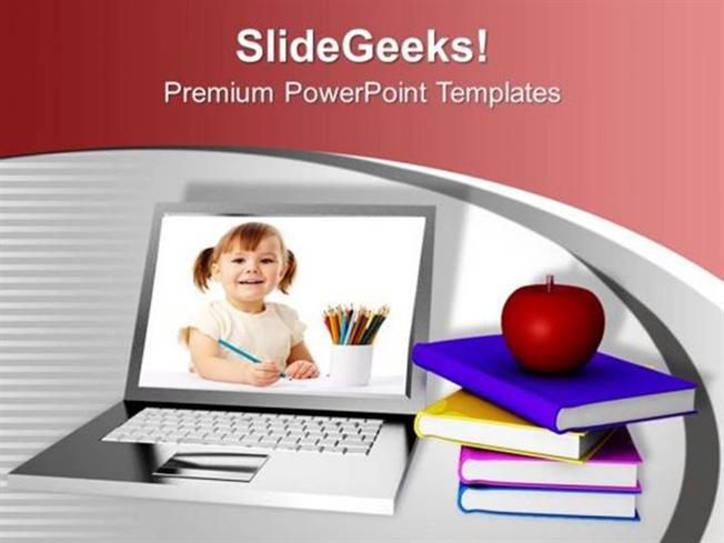 Modern education and online learning internet ppt template related powerpoint templates toneelgroepblik Image collections