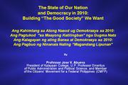 1Abueva's  State of the Nation-Building powerpoint