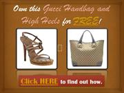 Free Gucci High Heels