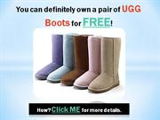 Free Genuine UGG Boots