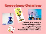 Reacciones Qumicas EXPO