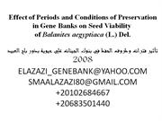 seed bank conservation