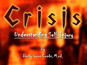 Understanding Self-Injury
