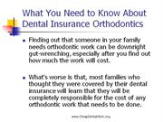 What You Need to Know About Dental Insurance Orthodontics