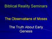 Observations Of Moses Sample