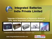 I-Plus Smf Vrla Batteries By Integrated Batteries India Private