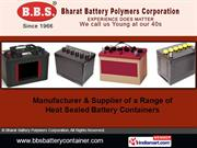 Cell Covers By Bharat Battery Polymers Corporation New Delhi