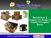 Printed Corrugated Boxes By Kapoor Box Factory, Manesar Gurgaon