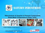 Sheet Metal Components By Saturn Industries Bengaluru