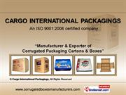 Corrugated Packaging Boxes By Cargo International Packagings Sonipat