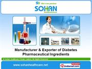 Metformin Hydrochloride (A.P.I) By Sohan Healthcare Private Limited