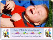 MJ's 1st bday montage
