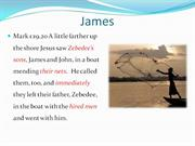 James - What�s in a name