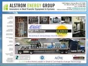 ELGE(r) High Efficiency Shell & Coil Heat Exchangers by ALSTROM Energy