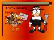 Thanksgiving Holiday Project 2