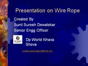 ppt wire rope