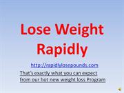 how to lose weight rapidly
