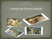 Animais em vias de extino
