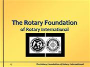 Rotary Foundation of Rotary Intl