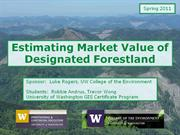 Designated Forestland Market Value