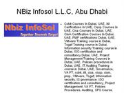 cism certification courses in dubai, uae