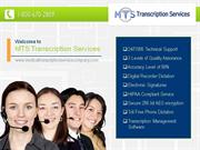 Radiology Transcription Services at MTS