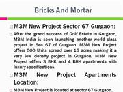m3m new project gurgaon, m3m new projects sector 67 gurgaon