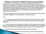 Things to look for while hiring an apartment