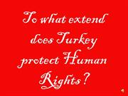 turkey's human rights