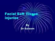 Soft tissue Injuries of face