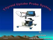 Thyroid uptake probe system