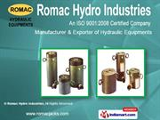 Hydraulic Pullers By Romac Hydro Industries Yamunanagar