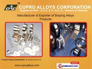 Silver Brazing Alloys By Cupro Alloys Corporation Meerut