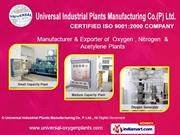 Liquid Oxygen-Nitrogen Plants By Universal Industrial Plants