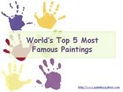 What Are the Most Famous Paintings?