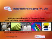 Paper With Fabric By Integrated Packaging Private Limited Noida