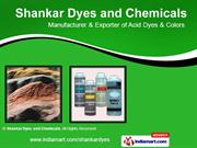 Chemical Dyes And Pigments By Shankar Dyes And Chemicals New Delhi