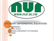 ORDINARY DIFFERENTIAL EQUATIONS 112