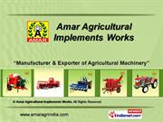 Reaper By Amar Agricultural Implements Works Ludhiana