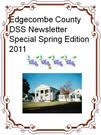 SPECIAL EDITION NEWSLETTER - SPRING 2011