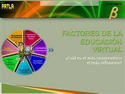 factores de la educacin virtual