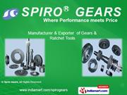 Precision Gears By Spiro Gears Bengaluru