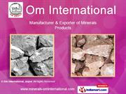 Dolomites Mineral By Om International, Jaipur Jaipur